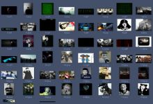 57套黑页源码和素材图片分享