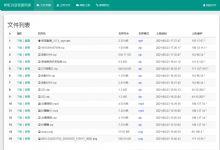 外链网盘源码  彩虹外链网盘V5.2更新 全新界面 支持图片违规检测